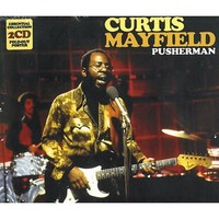 Curtis Mayfield Pusherman Cd Music Metro Metro Select