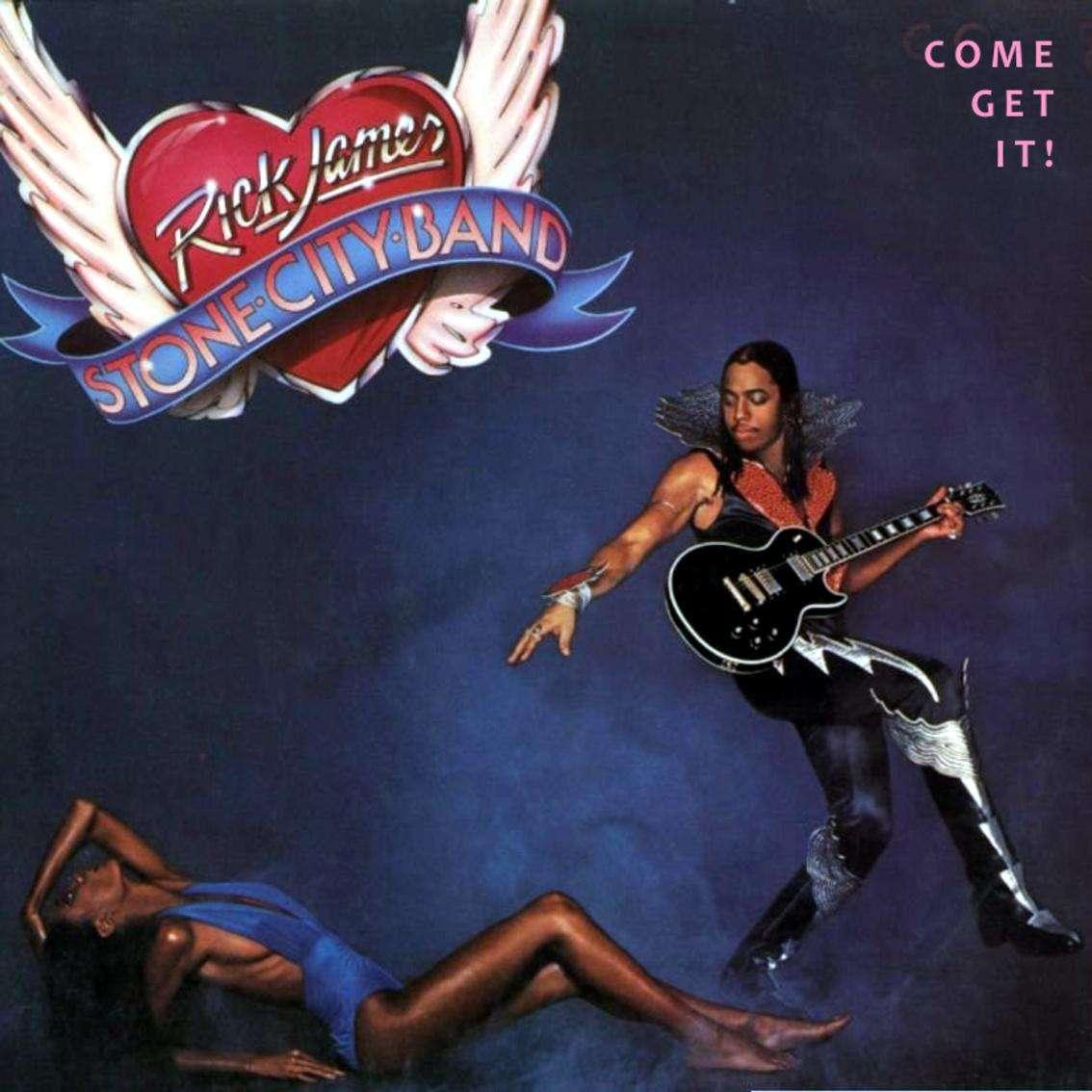 Rick James Come Get It Lp Music Motown Uk