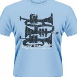 3 Trumpets T -Shirt- Small 1