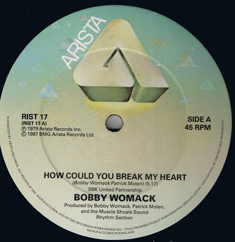 Bobby Womack - How Could You Break My Heart - YouTube