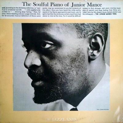 Soulful Piano Of Junior Mance