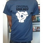 Original Soulboy Adapter T -Shirt Dark Blue - L