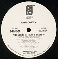Travelin In Heavy Traffic (July  single sale)