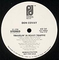 Travelin In Heavy Traffic (July  single sale)