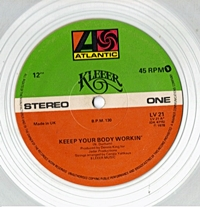 Keep Your Body Workin (Clear Vinyl)