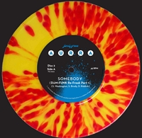"""Somebody Inc Dam Funk Remixes (Double 7"""" Red And Gold Swirl Vinyl Ltd Edition)"""