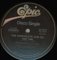 This Time / A Chocolate Jam
