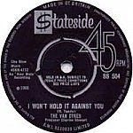 "I Won'T Hold It Against You/No Man Is An Island/ (7"" single deal)"