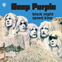 "Black Night / Speed King 7"" / Blue Opaque Vinyl In Picture Bag"