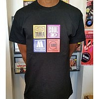Motown Labels T-Shirt - Black -M