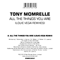 All The Things You Are (Louie Vega Remixes) Rsd 2016
