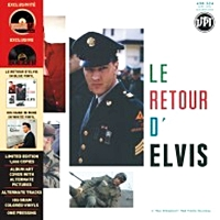 Le Retour D'Elvis / His Hand In Mine (Blue And White Vinyl )