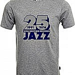 Soul Brother 25 Jazz T-Shirt Grey - Xl