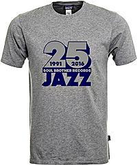 Soul Brother 25 Jazz T-Shirt Grey - Xl