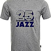 Soul Brother 25 Jazz T-Shirt Grey - Xxl