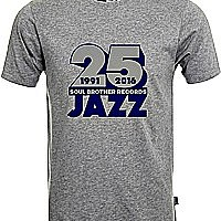 Soul Brother 25 Jazz T-Shirt Grey - Xxxl