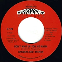 Don'T Wait Up For Me Mama/Never Like A Robin