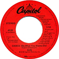 Dance( Do What You Wanna Do)/I Had A Choice