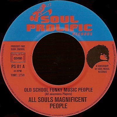 Old School Funky Music People / More Funky Music