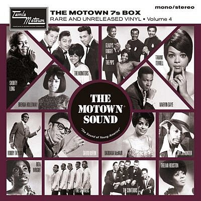 The Motown 7'S Vinyl Box Set Vol 4