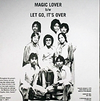 Magic Lover/Let'S Go It'S Over (Pic Sleeve)