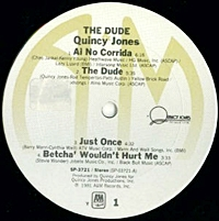 The Dude / One Hundred Ways / Just Once