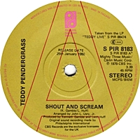 Shout And Scream/ Close The Door