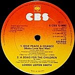 Give Peace A Chance / A Song For The Children / Space Princess / Sunburst