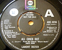 All Cried Out/ Rose