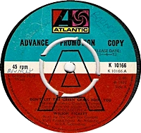 Don'T Let The Green Grass Fool You/ Covering The Same Old Ground (atlantic 45s)