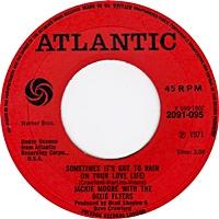 Sometimes It'S Got To Rain (In Your Love Life)/ Wonderful Wonderful (atlantic 45s)