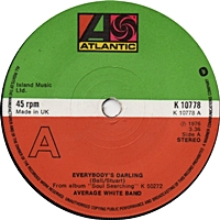 Everybody'S Darling/ Why (atlantic 45s)
