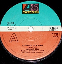A Tribute To A King/ Never Like This Before/ Marching Off To War (atlantic 45s)