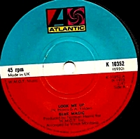 Look Me Up/ Whats Come Over Me (atlantic 45s)