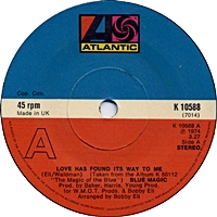 Love Has Found It'S Way To Me/ When Ya Coming Home (atlantic 45s)