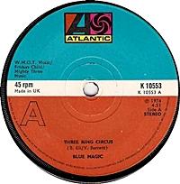 Three Ring Circus/ Spell (atlantic 45s)