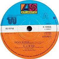 Devil'S Gun/ Free To Be Me (atlantic 45s)