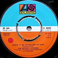 Could It Be I'M Falling In Love/ Just You And Me Baby (atlantic 45s)