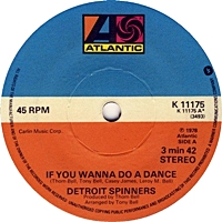 If You Wanna Do A Dance/ Once In A Life Proposal (atlantic 45s)