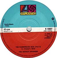 The Rubberband Man (Part 1)/ (Part 2) (atlantic 45s)