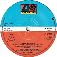 Wake Up Susan/ If You Can'T Be In Love (atlantic 45s)