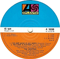 I'Ll Take You Home/ I'Ve Got Sand In My Shoes/ Hes Just A Playboy (atlantic 45s)