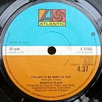 If Ever I See You Again/ I'D Like To Be Baby To You (atlantic 45s)