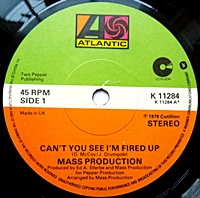 Can'T You See I'M Fired Up/ Eyeballin (atlantic 45s)