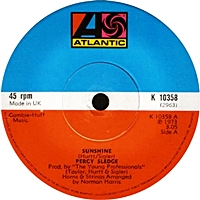 Sunshine/ Unchanging Love (atlantic 45s)