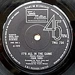 It'S All In The Game/ Love Is The Answer (tamla 7s)