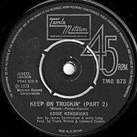 Keep On Truckin (Part 1)/ (Part 2) (tamla 7s)