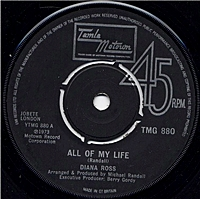 All Of My Life/ A Simple Thing Like Cry (tamla 7s)