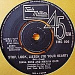 Stop, Look, Listen (To Your Heart)/ Love Twins (tamla 7s)