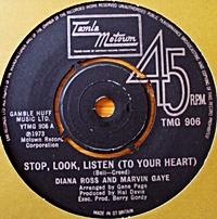 Stop, Look, Listen (To Your Heart)/ Love Twins (tamla 7s)